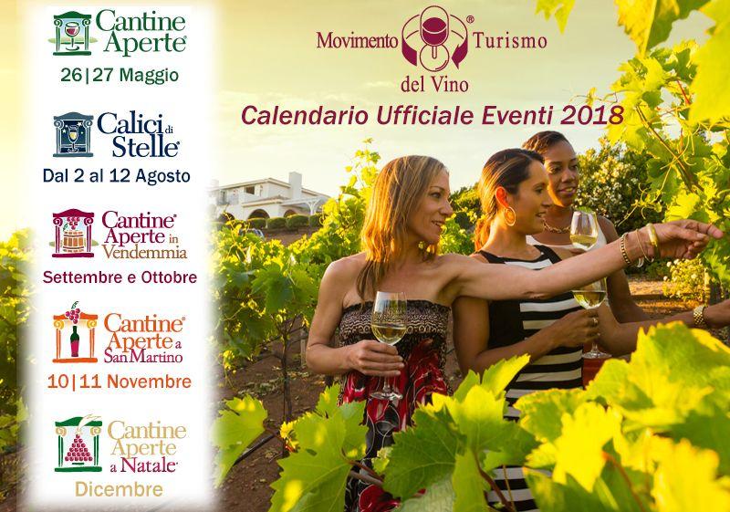 Un 2018 ricco di eventi per il Movimento Turismo del Vino. Dalle  manifestazioni nazionali evergreen agli appuntamenti regionali che  scandiranno questi ... 34746fcd746